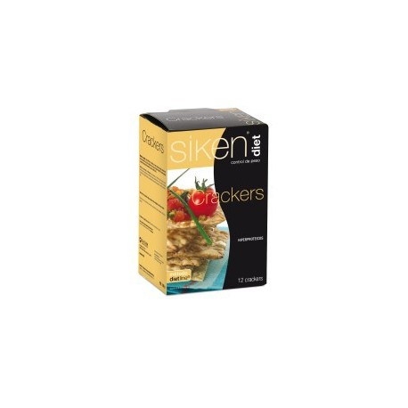 Siken Diet crackers 12 unidades