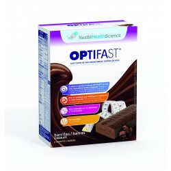 Optifast barritas de chocolate 6u