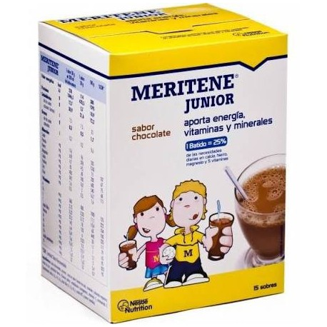 Meritene Junior Chocolate 15 sobres 30 gr