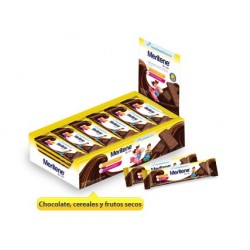 Meritene Junior barritas cereales sabor chocolate 30 unidades