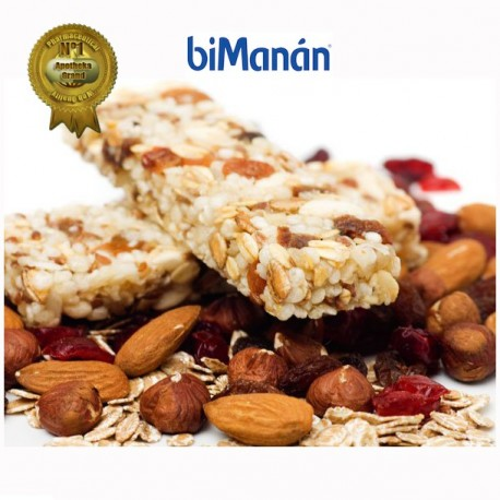 Bimánan barritas sustitutive cereales con chocolate 8u